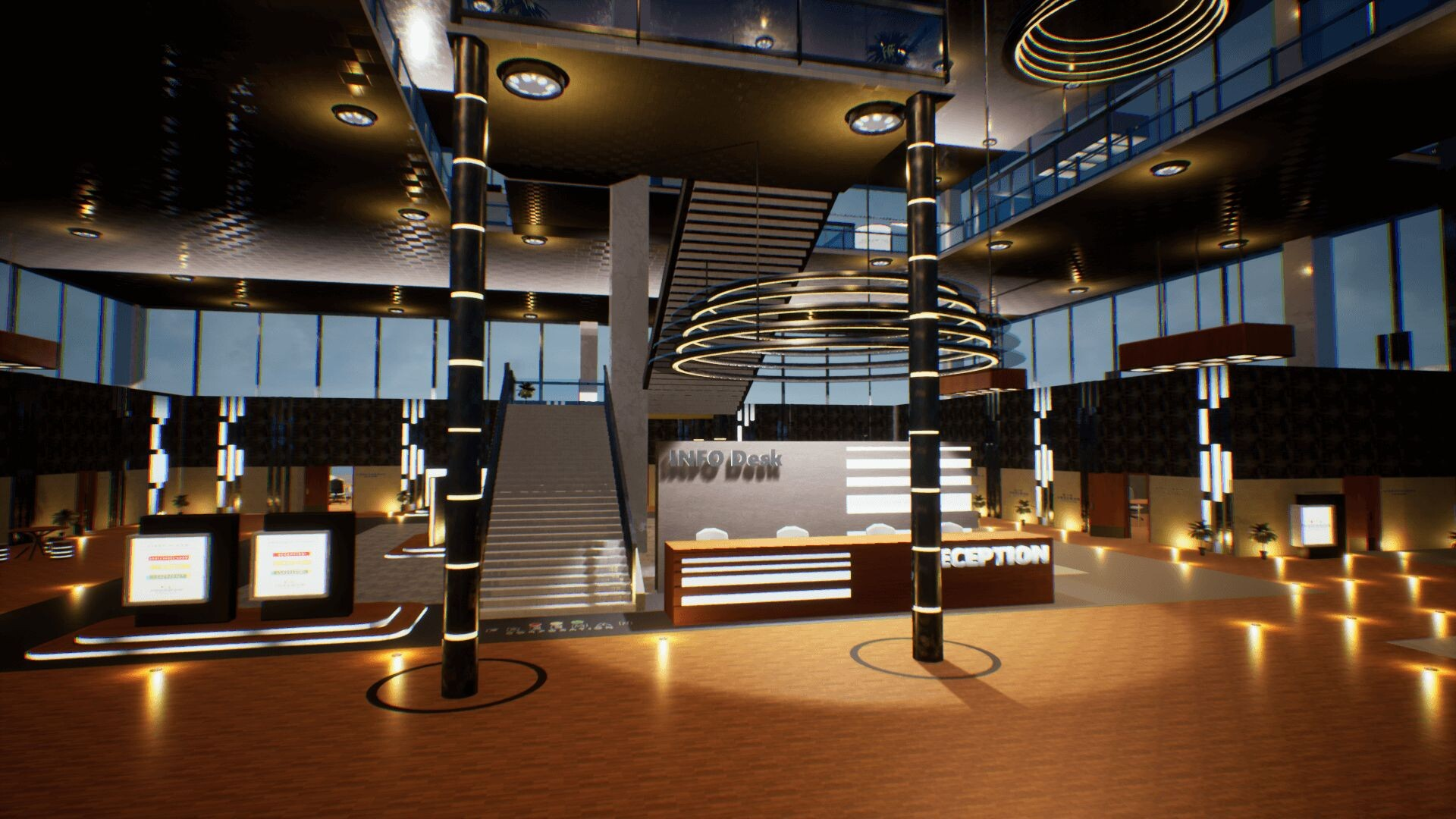 An image showing Corporate Building Freeman asset pack, created with Unreal Engine 4.