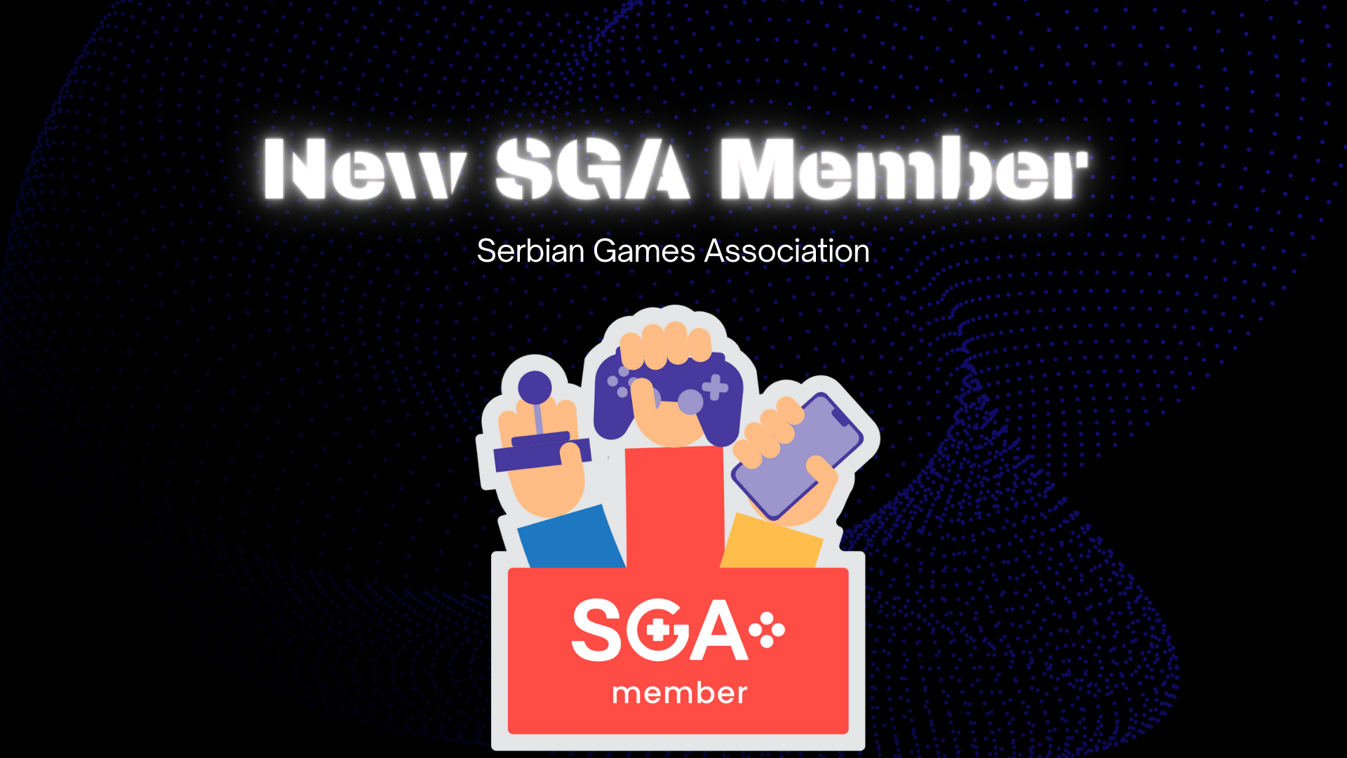 An images showing membership in Serbian Games Association